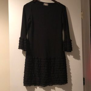 Donna Morgan Dress Black Size 2 Worn Once